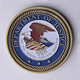Wholesale Bulk Custom Department Of Justice Challenge Coin
