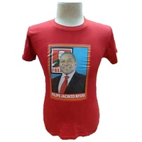 Election campaign round neck plus size printing logo t shirt for president campaign promotion gift made in China.