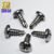 Taiwan Make No Rust High Hardness Stainless Steel Hex Washer Head Pan Head Self Drilling Screws