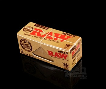100% Natural Smoking Raw Rolling Papers