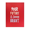 Bright Future 80 Ruled Pages Staple Bound Custom Printed Journal Exercise Note Book