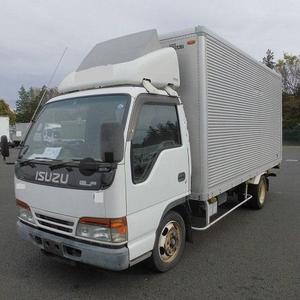 Japan Good Performance used ISUZU Diesel van trucks