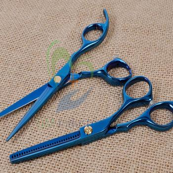 Professional Color coated Razor Edged Hair Cutting scissors Polished Solingen Germany Quality Scissorndus 3654