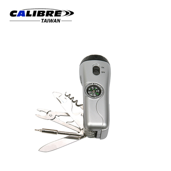 CALIBRE Promotion / DIY Tools With LED Torch New Multi-Function Tool