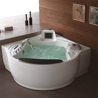 Perfect outdoor round hot tub spa massage swimming whirlpool bathtub