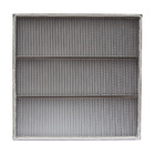 Stainless Steel Frame High Heat Resistance HEPA Filter, 304 Stainless Steel Air Filter
