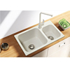 Guangdong factory popular kitchen and bathroom acrylic stone kitchen sink for sale