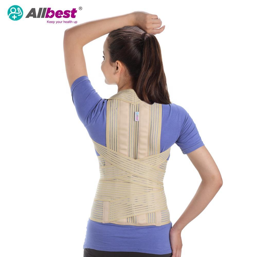 Dorsolumbar Spine kyphosis braces to back support posture