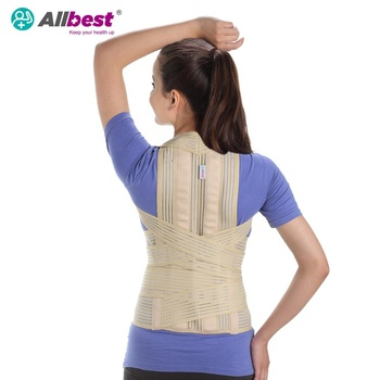 Dorsolumbar Spine kyphosis braces to back support posture