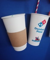 Vietnam Manufacturing Custom Paper cup with sleeves disposable