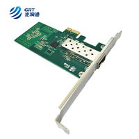 Lead-Free PCIe Gigabit 1000Mb 1-Port Fiber Optic Ethernet Network Adapter Intel I210IS chip