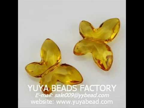 Sparking Clear Jewelry Acrylic Beads as Fashion