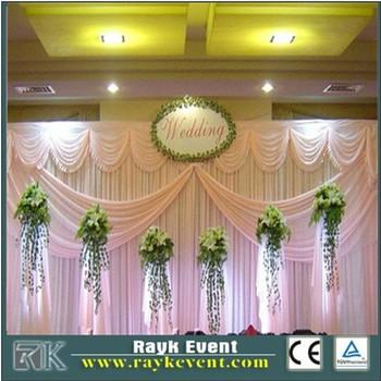 Indian Wedding Decoration Tray Stage Backdrop