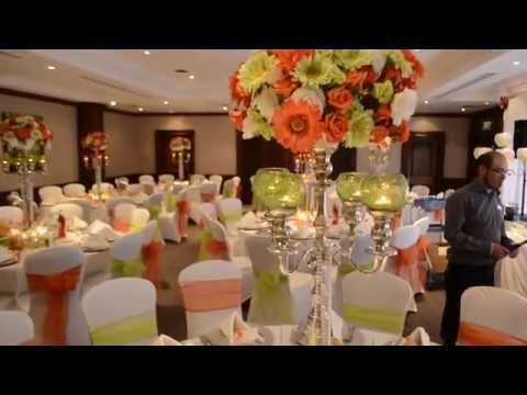 Cheap green and white wedding find green and white wedding deals on get quotations white bright orange and apple green wedding reception decorations junglespirit Image collections