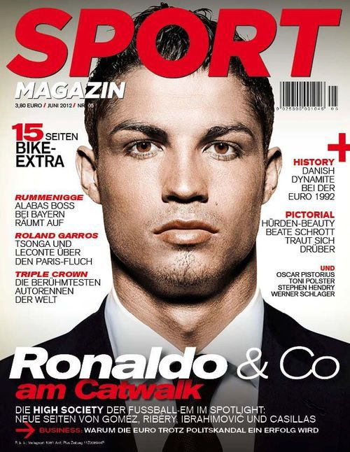 sport ronaldo cristiano magazine sports covers printing magazines soccer poland players skout messi coverlines bodybuilding