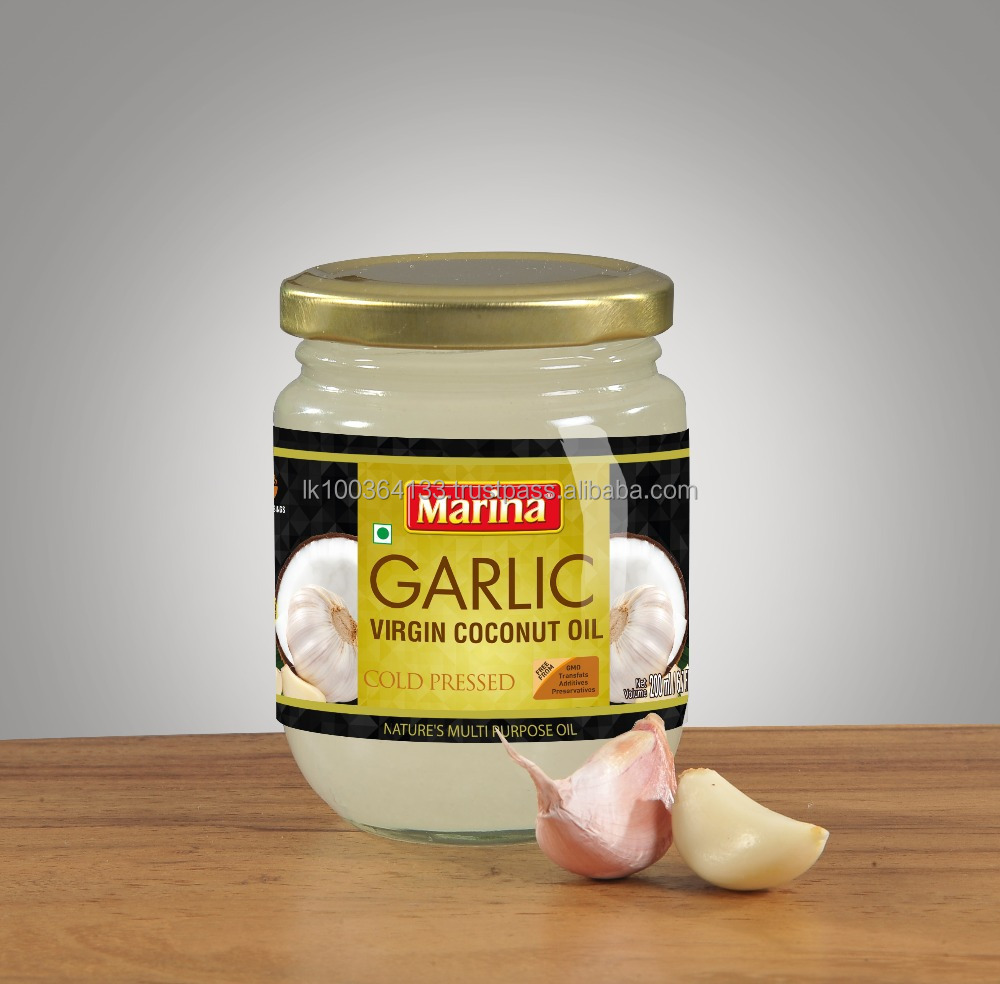 Garlic Virgin Coconut Oil - Buy Garlic Virgin Coconut Oil,Virgin Coconut  Oil,Cold Pressed Virgin Coconut Oil Product on Alibaba com