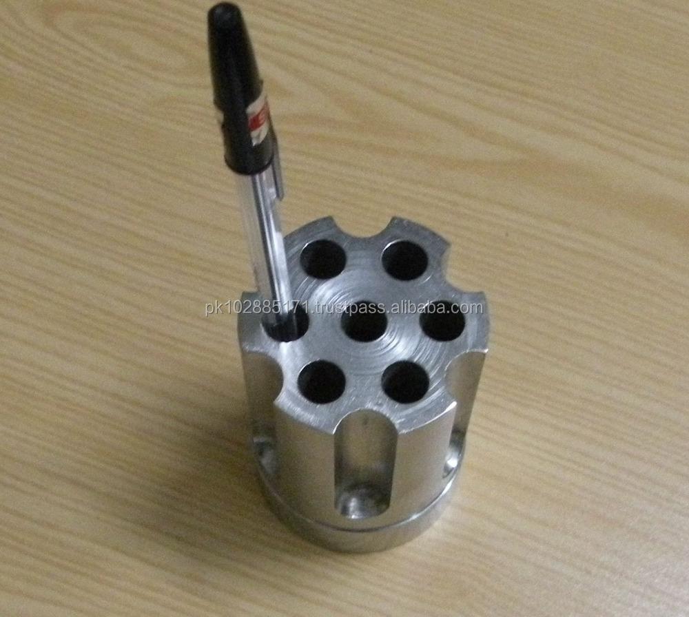 Barbuzzo Gun Cylinder Pen Holder