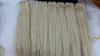 Hot Sale Straight Weft Blonde Hair Piece - Vietnamese Blonde Hair And Closure
