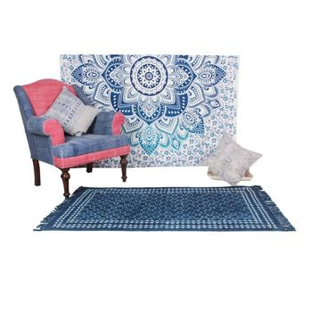 Washable Area Rug For Bedroom Indian Handmade Traditional Carpet 3x5 4x6 Quot