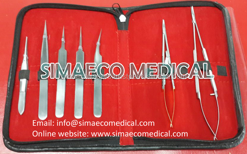 Micro Surgery Instruments Set