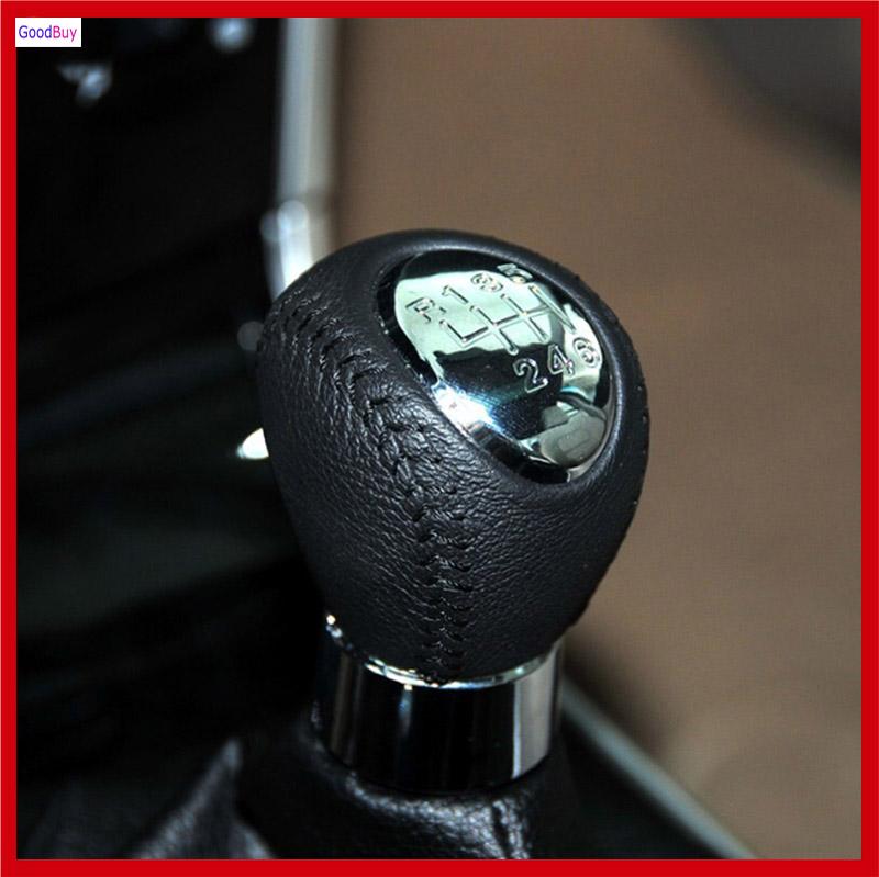 new chrome black 6 speed manual transmission gear shift knob for mazda 3 axela cx 5 mazda 5. Black Bedroom Furniture Sets. Home Design Ideas