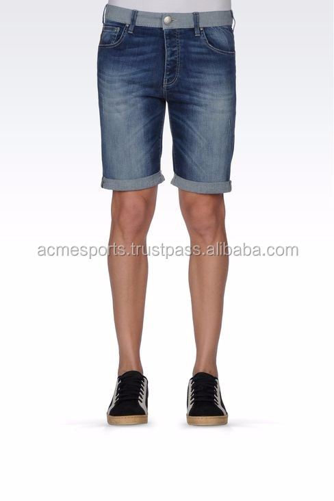 bermuda jean shorts men