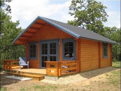 Superbe Small Log Cabin Kits | 3 Rooms U0026amp; ...