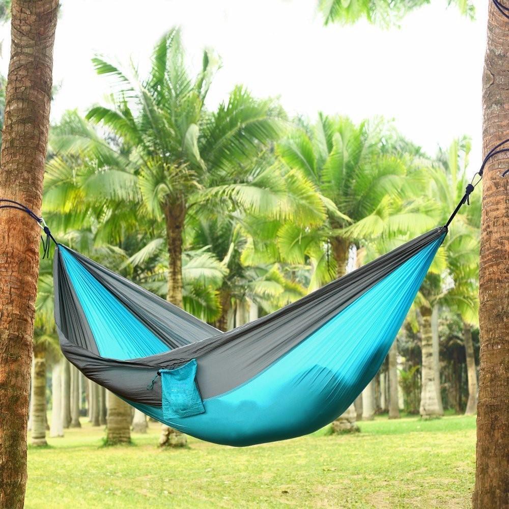 Hangmatten Te Koop.Groothandel Opvouwbare Parachute Nylon Hangmat Outdoor Online
