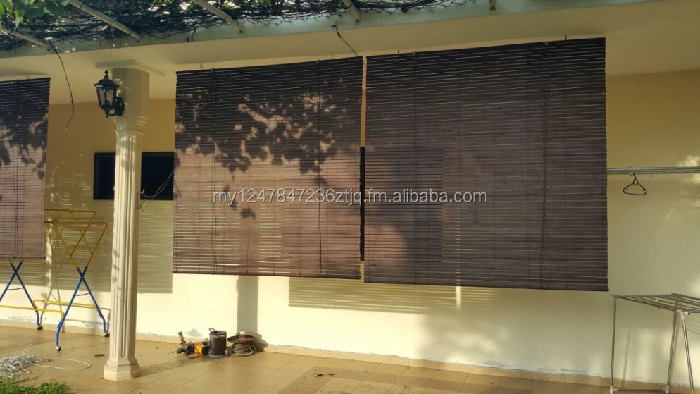 Hoge Kwaliteit Custom Made Outdoor Timber Blind