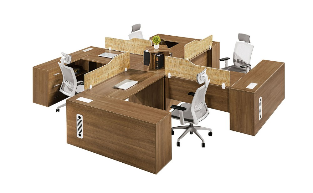 Office Furniture Design Office Partition 4 Person Work Station Buy