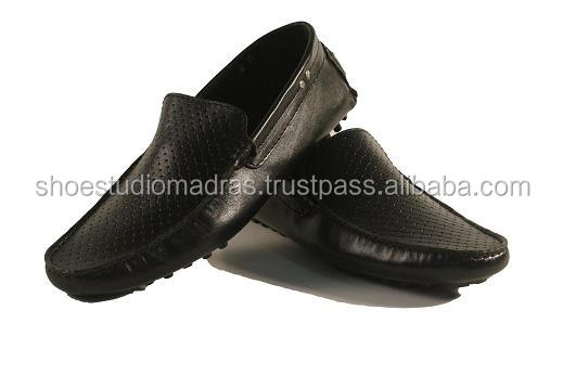 FOR SHOES LOAFERS GENUINE CASUAL MEN LEATHER n1q6wS7z