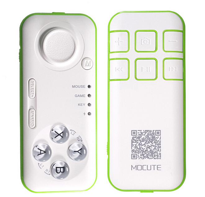 MOCUTE Mini Bluetooth Joystick multifunction Selfie Remote Control Shutter Gamepad Wireless Mouse for ipad/android/iphone 4/4s