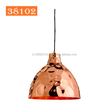 Hand Hammered Copper Designer Metal Pendant lamp