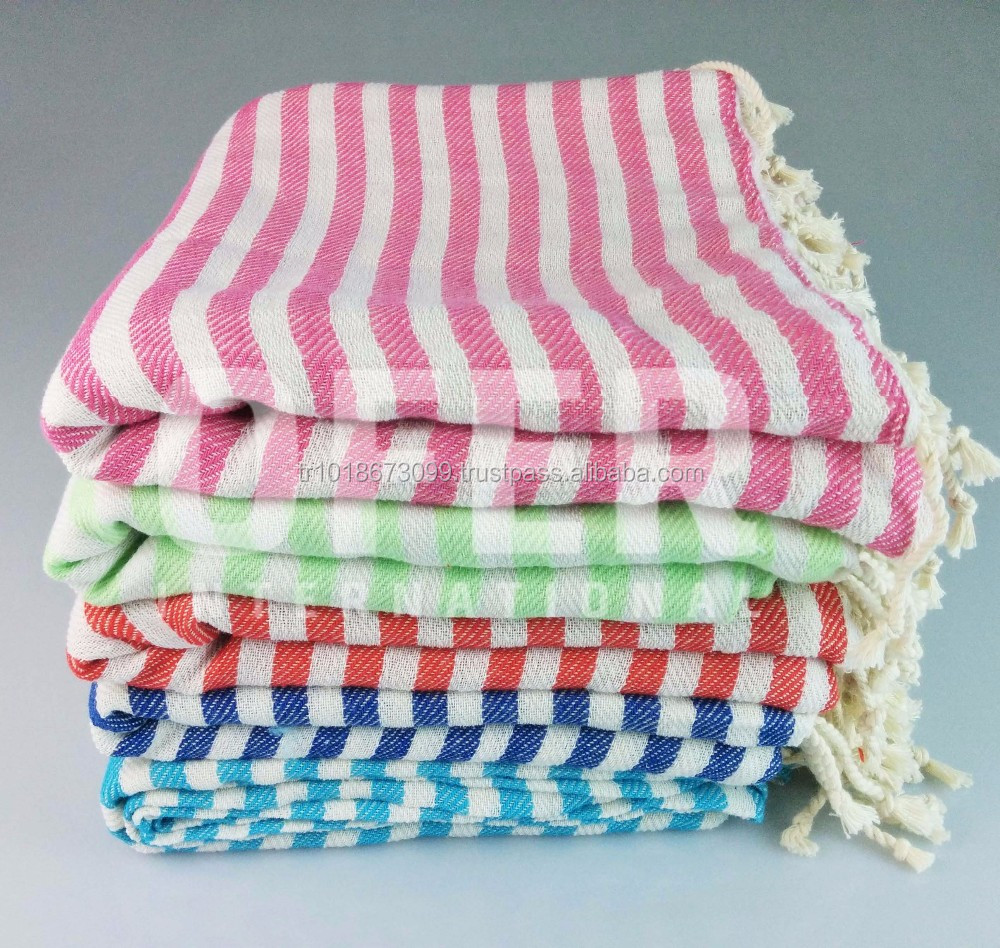 Kash Peshtemal Turkish Towels, Pestemal, Hamam Towels Wholesale Blanket, Vintage Look