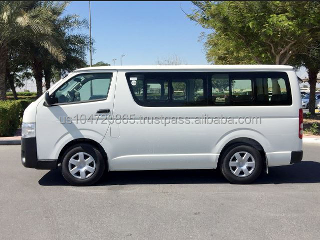 2016 TOYOTA HIACE 15 seater / 3 Seater Standard Roof 2.5L Diesel New for Export