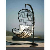 New Style 2017 poly rattan swing chair Viet Nam manufacturer