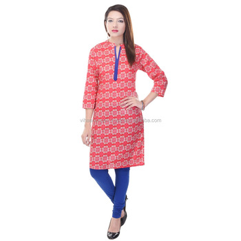Exclusive Indian Ethnic Pure Cotton Designer Printed Casual Wear ...