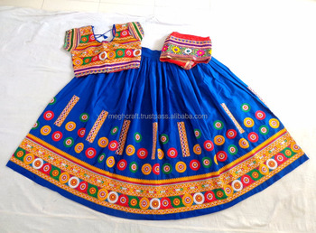 ce531de846 Navratri ghagra choli - Wholesale Gujarati Chaniya Choli - Designer cotton  rabari embroidered Lehenga-Navratri