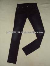 DAMES DENIM SKINNY FASHION JEANS STOCK VEEL