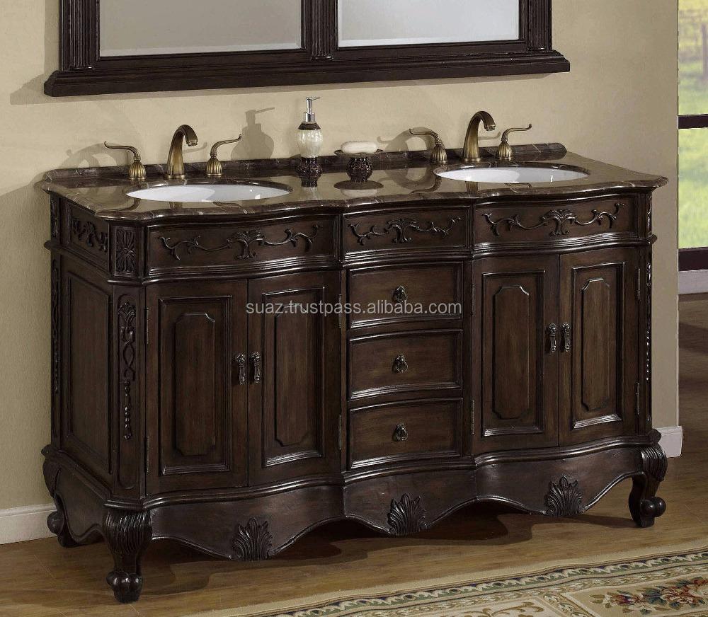 Single Sink 48 Inch Granite Top Vanity
