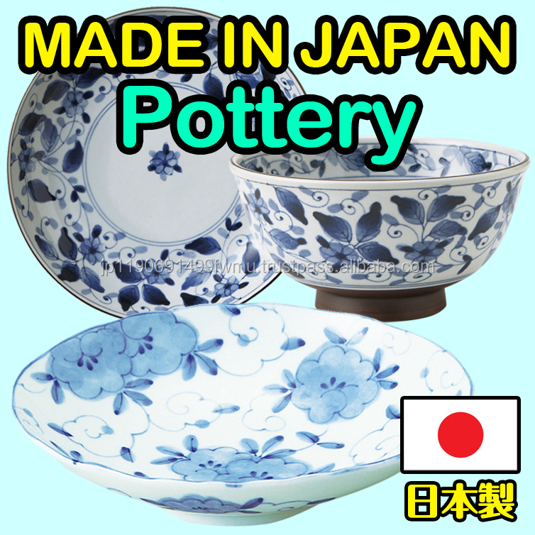 Reliable and High-grade tableware sets Traditional Japanese pottery at proper prices