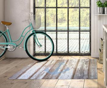 Pvc vinyl tapijt 60x80 cm mat anker tapijt tapijt pvc vinyl vloer