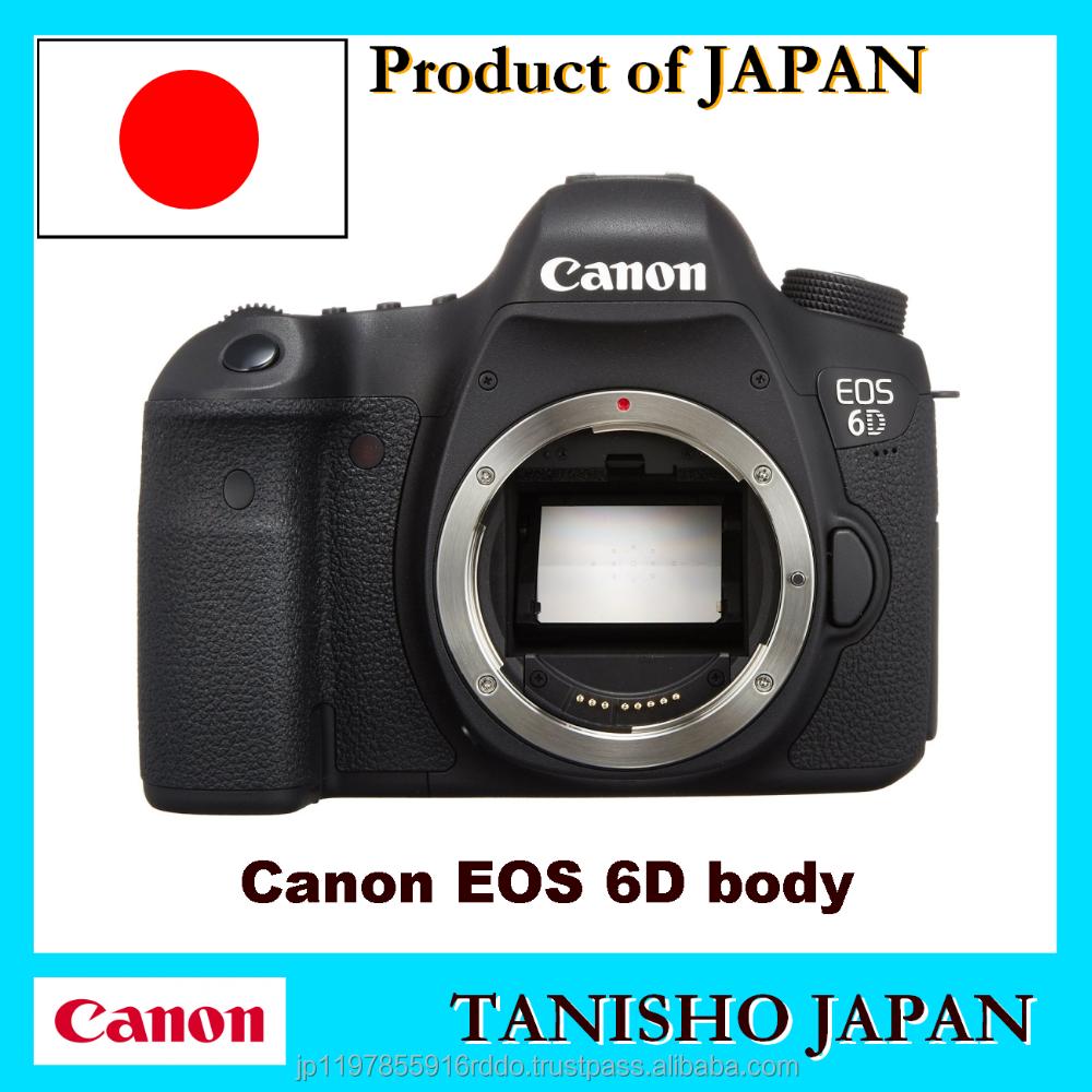 marque nouvelle authentique eos canon eos 6d cam ra pour les utilisateurs professionnels. Black Bedroom Furniture Sets. Home Design Ideas