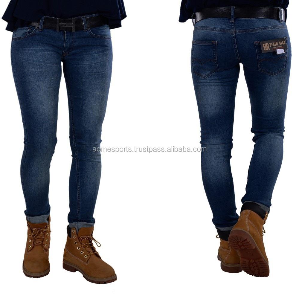 Distressed Denim Jeans Pants - Fashion New Men's Distressed Denim ...