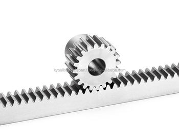 High precision ground rack gear Module 2.0 Length 1000mm Made in Japan KG STOCK GEARS