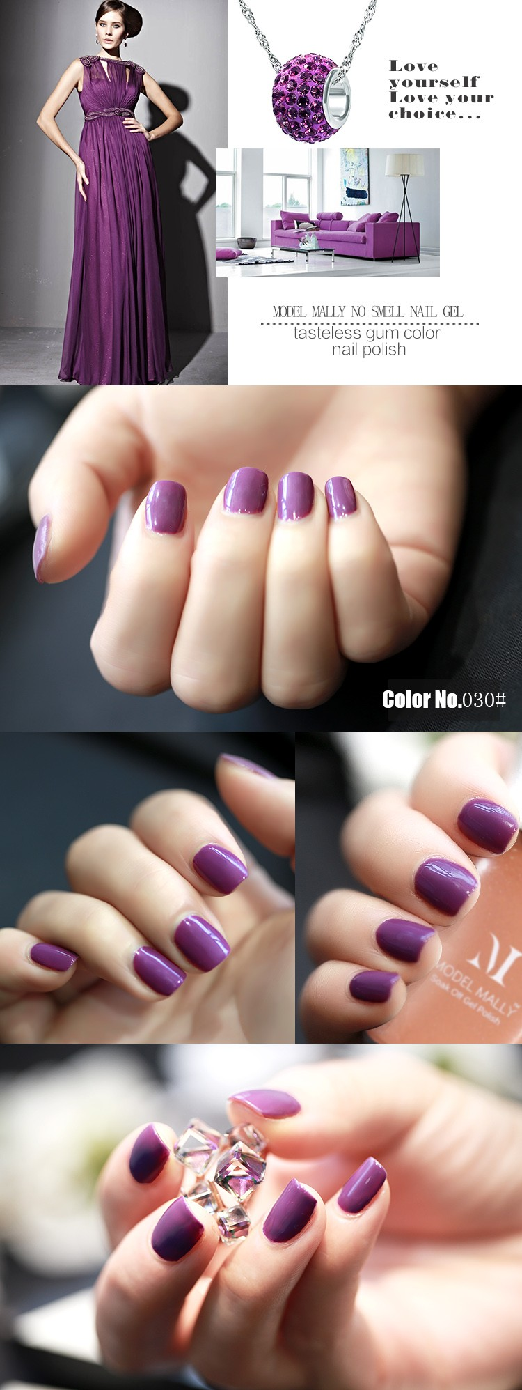 how to get gel nail polish off acrylic nails