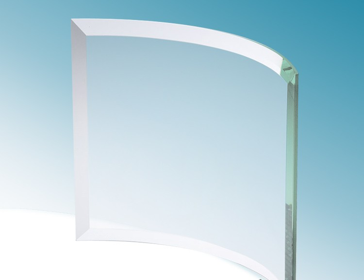 Factory Price 8mm 10mm 12mm Curved Tempered Glass For Shower Room Door