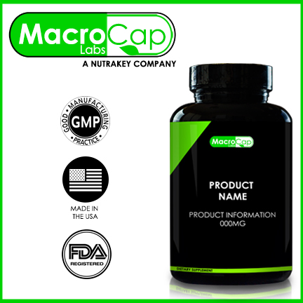 NAC (N-Acetyl Cysteine) Capsules Bottled Private Label GMP
