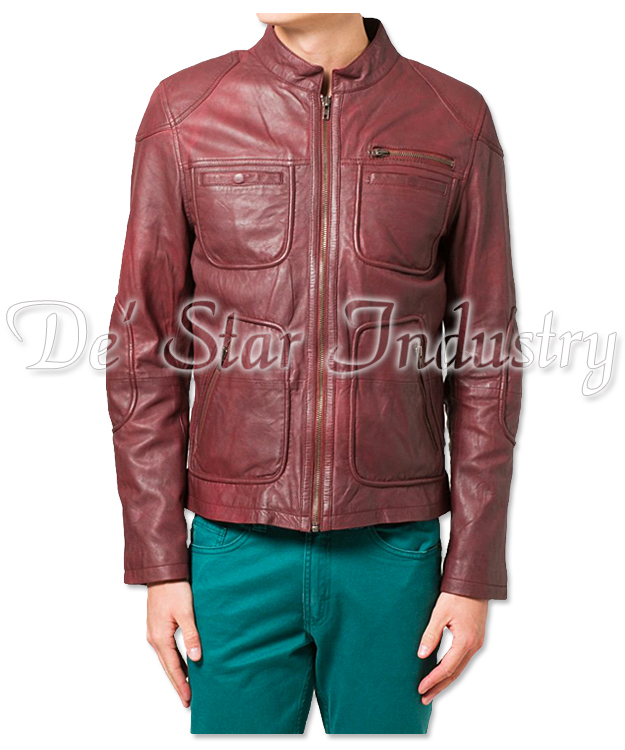 Latest Fashion Real Sheep Leather Jackets for Gents
