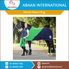 Wholesale Supplier of Premium Quality Horse Rug/ Cover at Low Cost